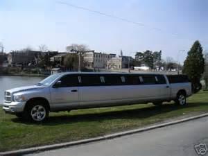 dodge ram limousine dodge diesel diesel truck