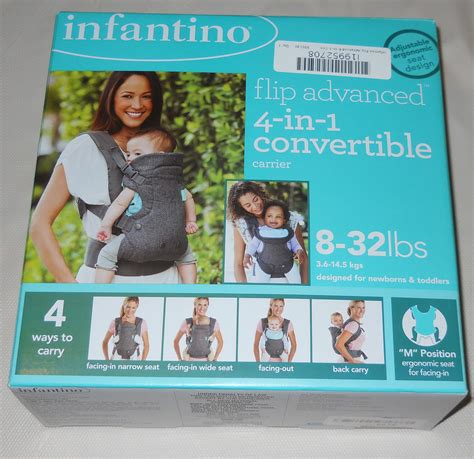 infantino flip advanced 4 in 1 convertible carrier light grey infantino flip advanced 4 in 1 convertible carrier light