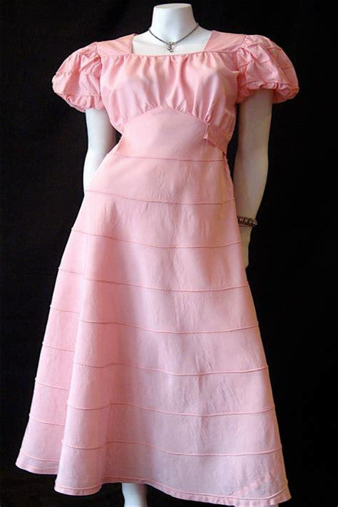 original 1930s dress vintage clothing genuine
