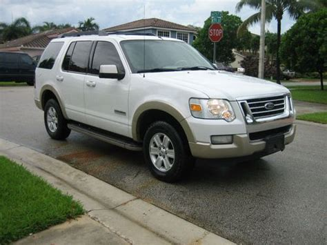 how things work cars 2007 ford explorer sport trac lane departure warning sell used 2007 ford explorer eddie bauer 4d sport utility in miami florida united states