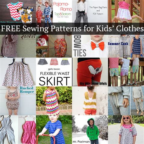 patterns sewing children s clothes 20 free sewing patterns for kids clothes andrea s notebook