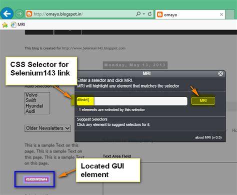 css xpath tutorial selenium by arun powered by tutorialsninja com