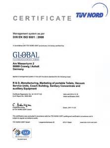 certificate din en iso 9001 2008