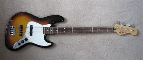 Bass Fender Jaz Bas Sunbrs 2 fender jazz bass standard