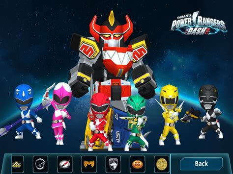 download mod game power ranger dash power rangers dash game mighty morphin dino charge
