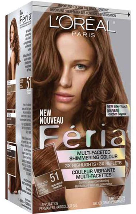 feria 51 bronzed brown photos hair on people l or 233 al paris feria 51 shimmering haircolour gel walmart ca