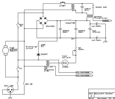 power supply bleeder resistor the professor s homebuilt lasers site argon lasers