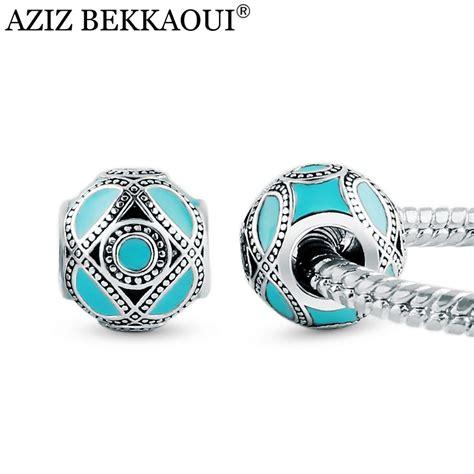 Big Hole Beads Fit Original Pandora Charms Bracelet & Necklace Diy Loose Beads Natural Stone