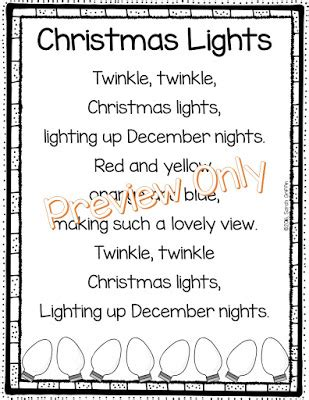 daughters and kindergarten 5 christmas poems for kids