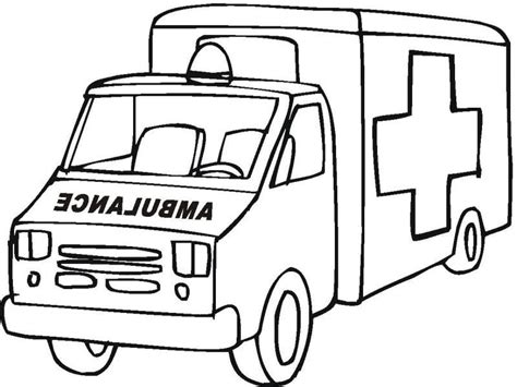 Ambulance Coloring Pages ambulance coloring pages coloring home
