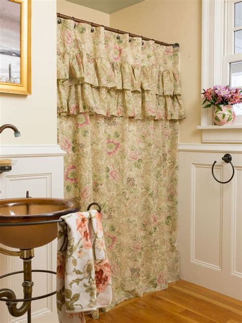 rose shower curtains tea rose shower curtain your home curtains beautiful