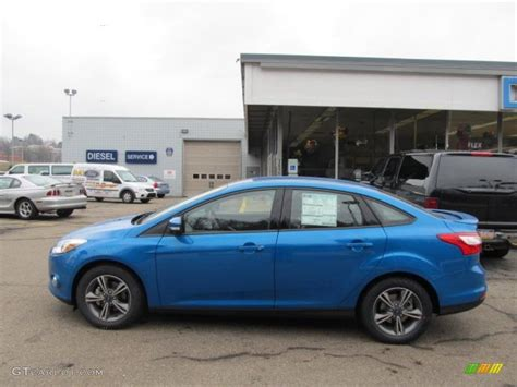 ford focus blue paint code