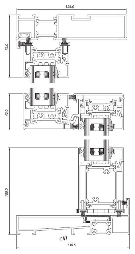 aluminium sliding window sections aluminium vertical sliders smart vs600 sliding window