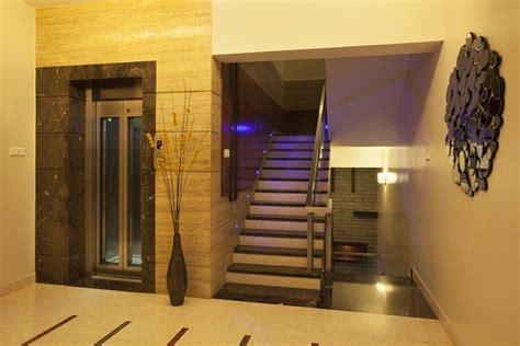Marble Foyer Floor Designs Award Winning House At Kk Nagar Chennai Designed By