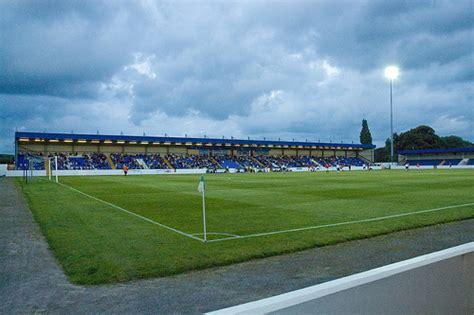 Ring Stand Football Club 3 deva stadium chester cheshire friendly chester 3 3 fc flickr