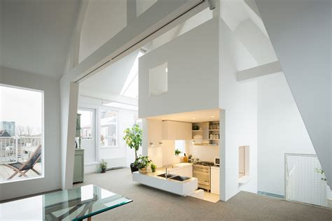 gallery appartments unique modern attic duplex apartment in amsterdam with