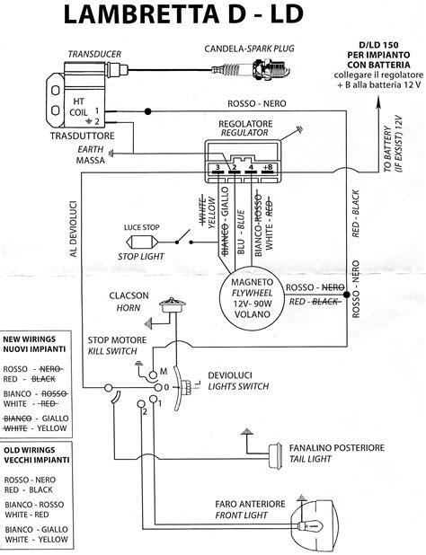 lambretta varitronic wiring diagram 35 wiring diagram