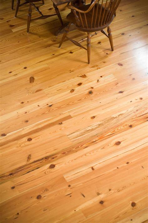 Longleaf Lumber   Rustic Heart Pine Wood Flooring