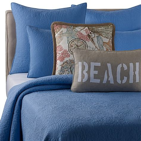 pillow shams bed bath and beyond solid seashell blue pillow shams bed bath beyond