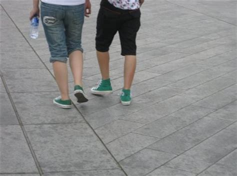 matching green shoes say quot i want you and no one else