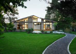 predesigned green homes with lindal s modern a frame
