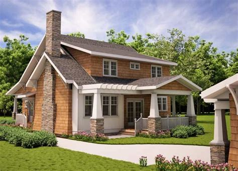 arts and crafts house plans arts and crafts cottages plans