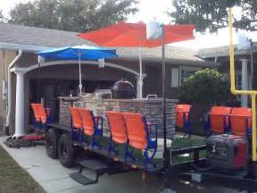 cer trailer kitchen ideas stadiumseating net customer coolest tailgate trailer