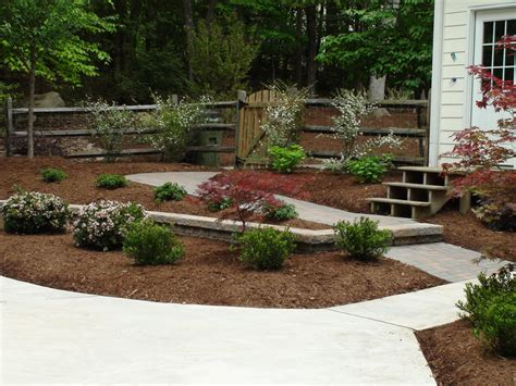 Landscape Design Durham Nc Completed Works Aeration Seeding Lawn Maintenance