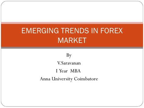 Mba Forex by Forex Mba