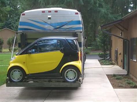 towing smart car rv net open roads forum smart car towing its own trailer