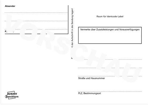Paketaufkleber Drucken Vorlage by Adressaufkleber Paketaufkleber 2824 Avery Zweckform
