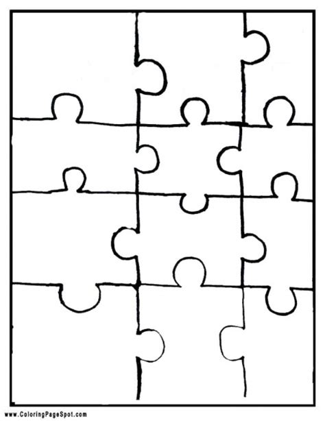 Jigsaw Puzzles Make Your Own Printable | make your own jigsaw puzzle printable asd kindergarten