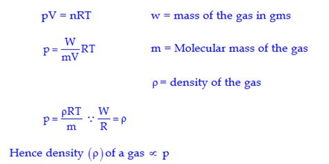 how is mixed formula at room temp ncert chemistry states of matter dronstudy