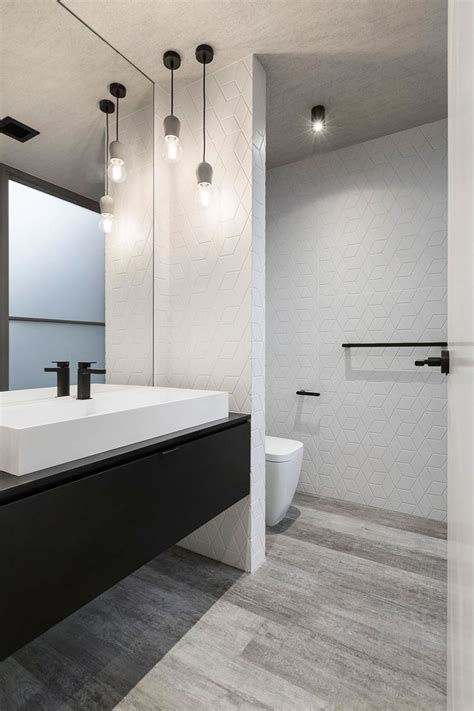 modern black and white bathrooms 25 best ideas about bathroom pendant lighting on
