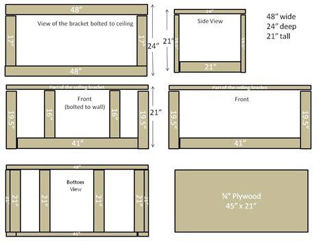 Garage Plans With Storage by Free Garage Storage Plans