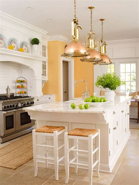 orange and white kitchen ideas 38 amazing kitchen island inspirations godfather style