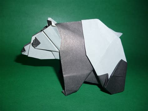 How To Make An Origami Panda - origami panda fumiaki kawahata