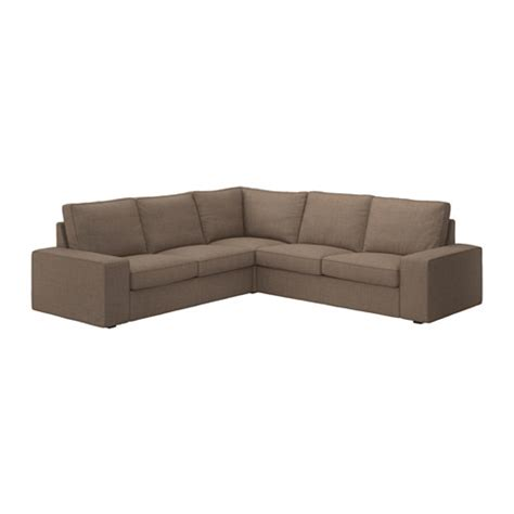 ikea kivik sectional kivik sectional 4 seat isunda brown ikea