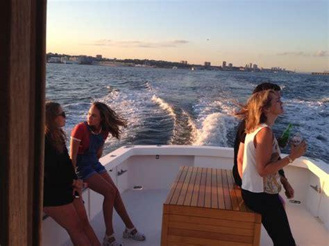 lobster boat manhattan new york boat rental sailo new york ny downeast boat 5319