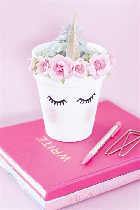 diy unicorn planter best friends for frosting