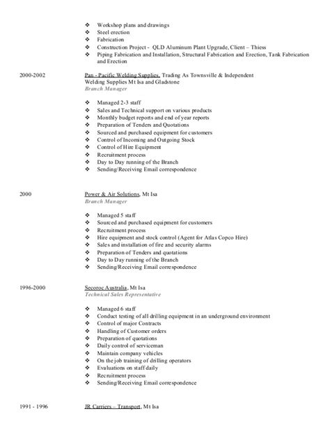 Structural Steel Estimator Sle Resume by Johns Resume