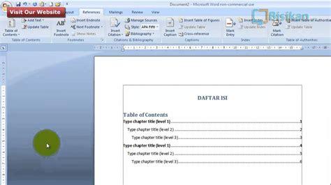 cara membuat titik titik daftar isi microsoft word 2010 maxresdefault jpg