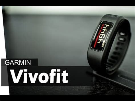 garmin vivofit reset counter garmin vivofit review youtube
