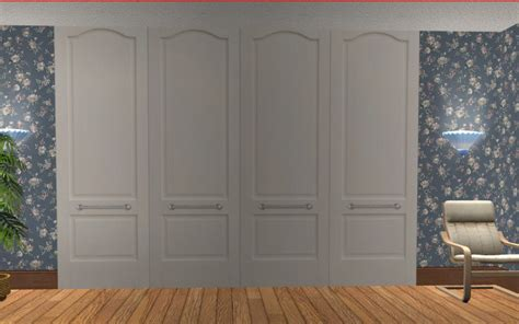 Wardrobe Doors Only by Mod The Sims Wardrobe Closet Doors Deco Only