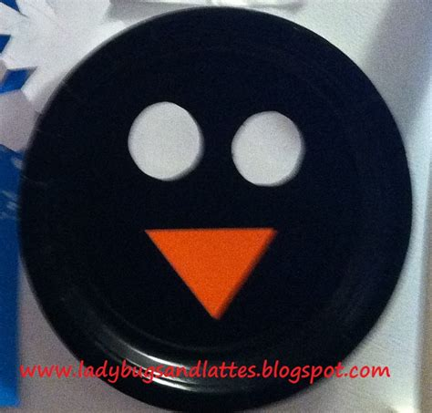 How To Make A Paper Plate Penguin - ladybugs and lattes winter themed activities for toddlers