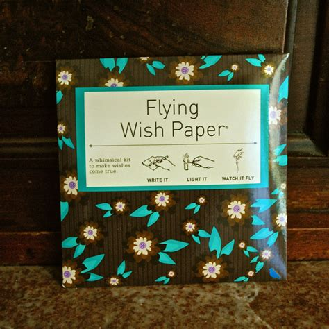 How To Make Flying Wish Paper - flying wish paper from lbm gifts review dandy giveaway