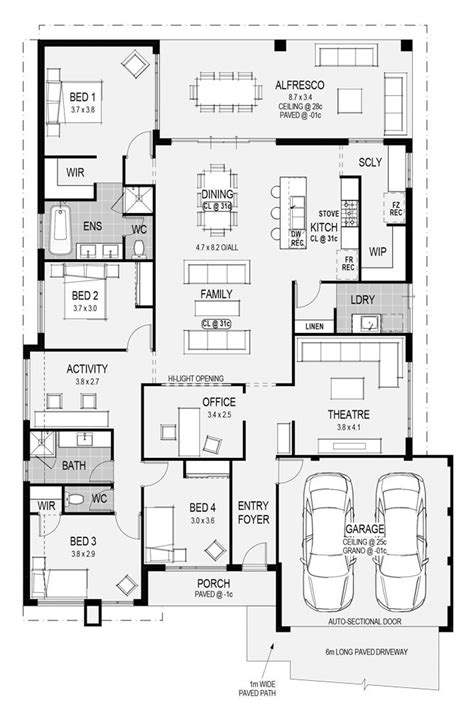 perfect floor plans the perfect floor plan home design