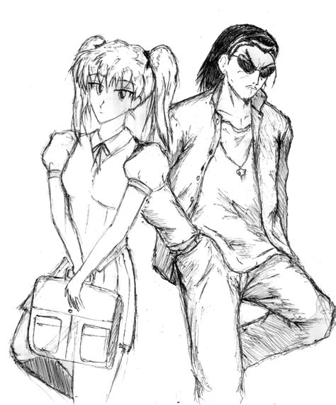 school rumble coloring page school rumble colouring pages
