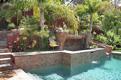 diy backyard pool how to build a pool what to do with a sloped backyard