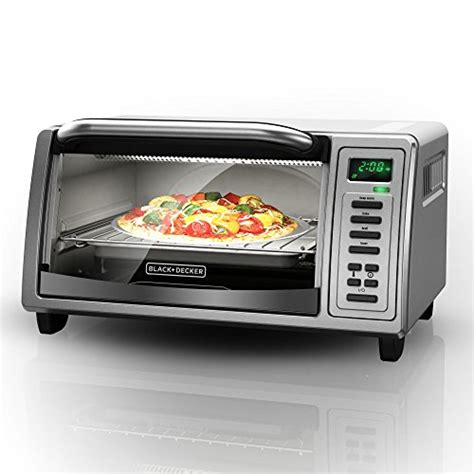 black and decker kitchen appliances black and decker to1380ss 4 slice toaster oven platinum